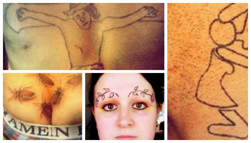 Cele mai cretine tatuaje din Univers