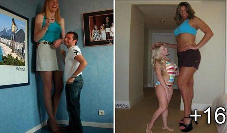 18 femei incredibil de înalte