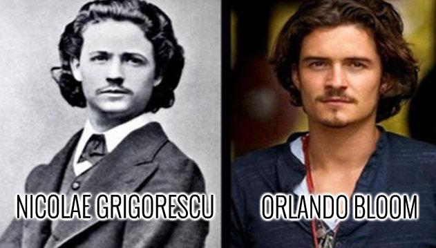 15 celebrităţi care seamănă perfect, deşi sunt sute de ani între ele