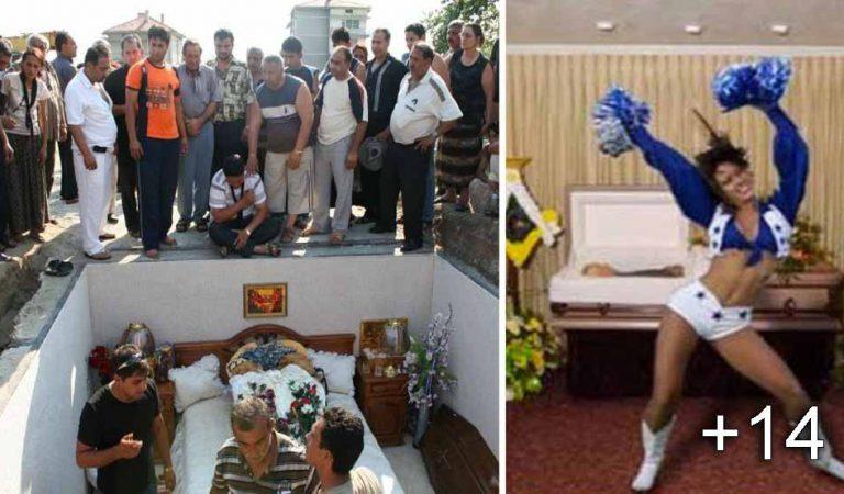 14 înmormântări ciudate la care sigur nu ai vrea să participi