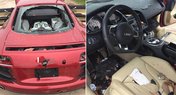 femei care au distrus masini