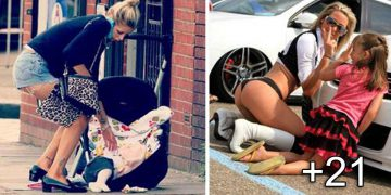 imagini amuzante cu mame si copii
