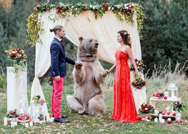 O nuntă obişnuită în Rusia