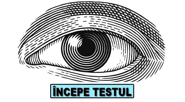 test de vedere