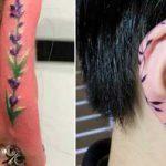 tatuaj pe helix