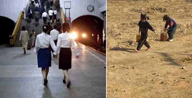 Imagini interzise din Coreea de Nord, pe care Kim Jong-un le-ar vrea şterse de pe internet