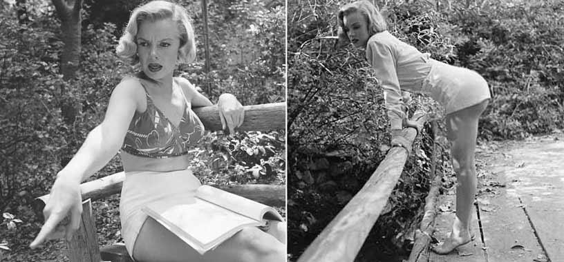Imagini rare cu Marilyn Monroe, înainte ca frumoasa blondă să devină celebră