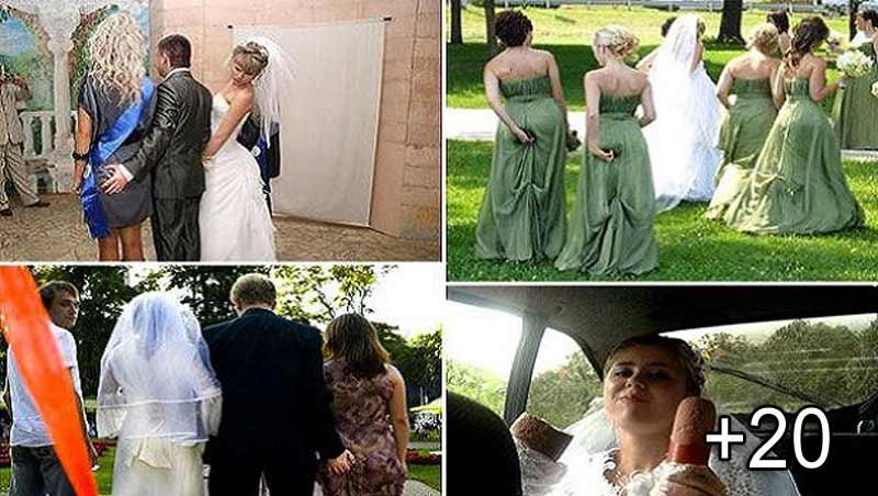 21 De Momente Incredibil De Ciudate Surprinse în Timpul Nunţilor
