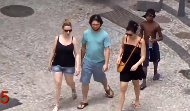 Trebuie să vezi cum acţionează aceşti hoţi, în public, fără nicio reţinere (supraveghere poliţie)