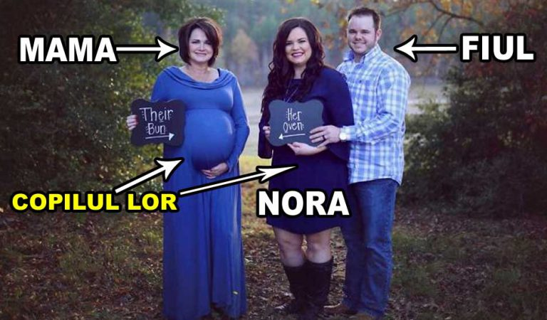 A născut copilul fiului ei, iar povestea acestei familii te va lăsa fără cuvinte