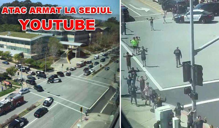 Atac armat la sediul YouTube. Mai multe persoane au fost împuşcate de o femeie