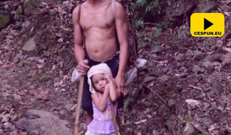 O fetiţă de 5 ani îşi duce tatăl la muncă în fiecare zi. Motivul te va întrista (VIDEO)