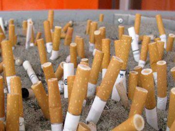 reciclare mucuri de tigara