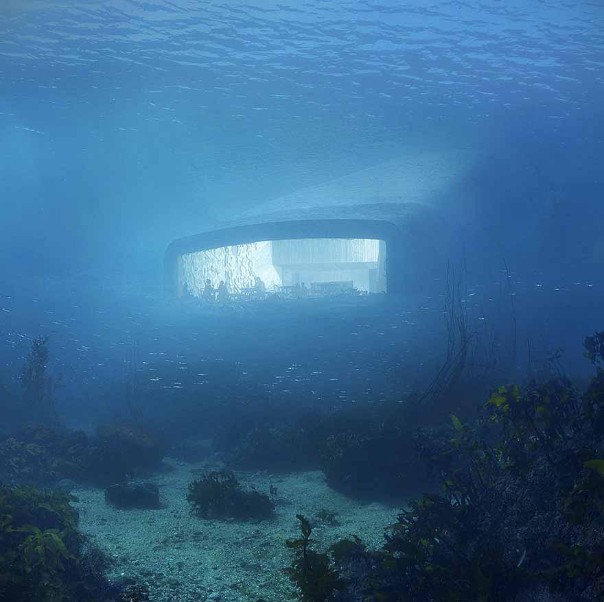 restaurant subacvatic