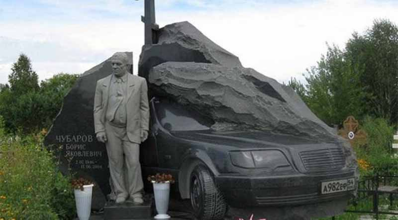 cimitirul mafiotilor din Rusia