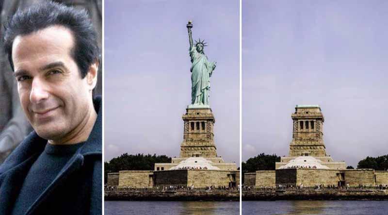a facut sa dispara statuia libertatii