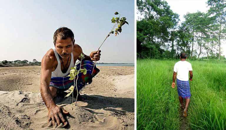 Bărbatul care a transformat deşertul în pădure, plantând copaci timp de 40 de ani