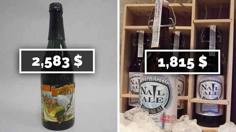 Top 10 cele mai scumpe beri din lume. Cea mai scumpă bere costă 2583$
