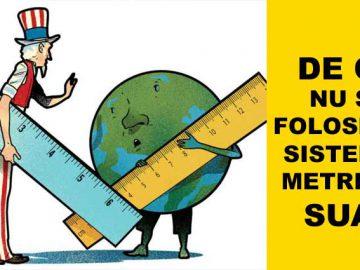 de ce nu se foloseste sistemul metric in sua