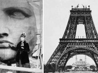 fotografii din timpul construirii