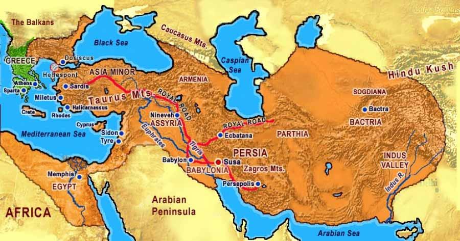 pedepse in persia