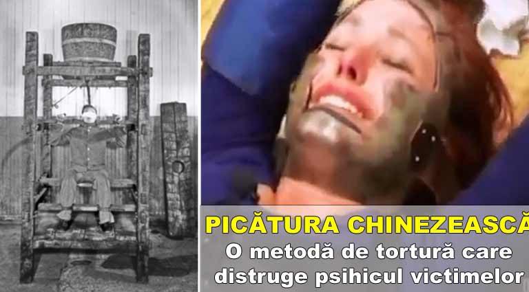 Picătura chinezească | O metodă de tortură care distruge psihicul