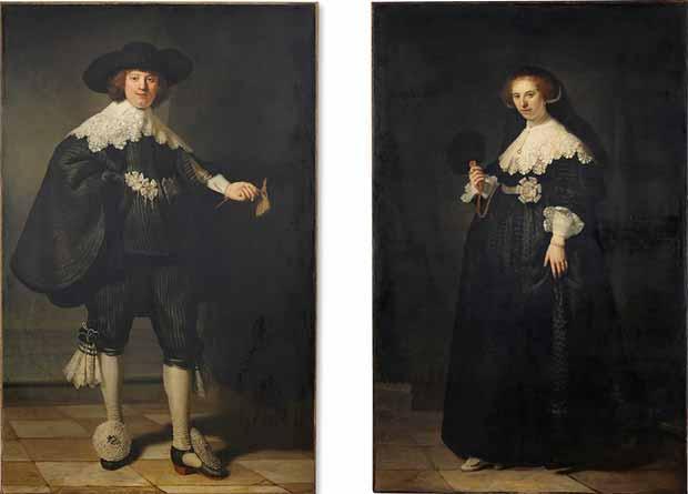 portretele lui Maerten_Soolmans si Oopjen_Coppit