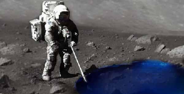 pe luna poti alerga pe apa