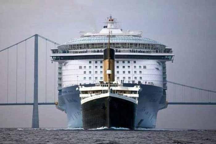 Titanic vs. vasele de croazieră moderne