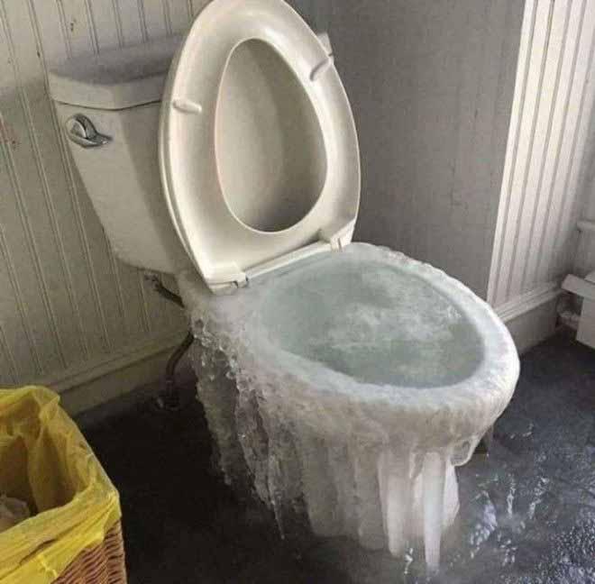 wc inghetat