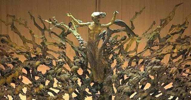 Statuia lui Iisus la înălţare