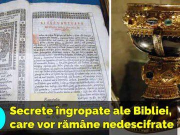 secretele ingropate ale bibliei