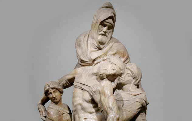 Statuia lui Iisus dupa rastignire