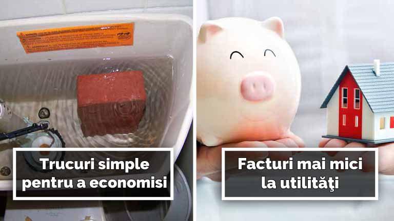 10 trucuri simple, care te vor învăţa cum să faci economie la bani