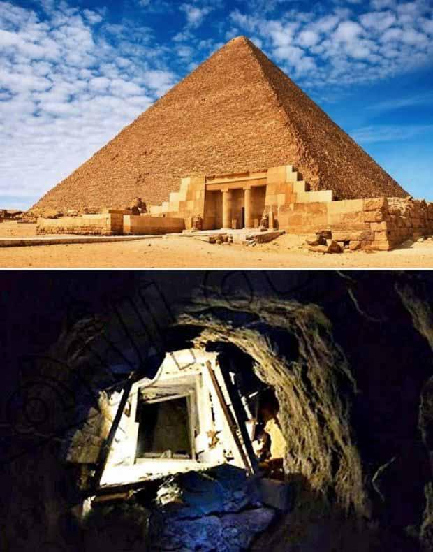 tunel catre marea piramida