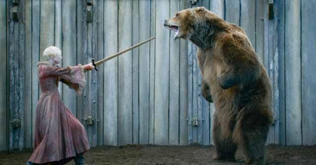 ursul din game of thrones