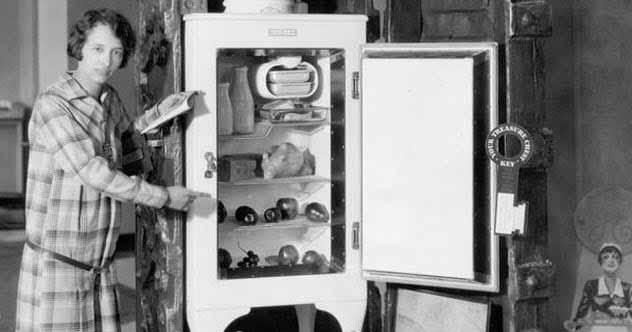 primul frigider electric