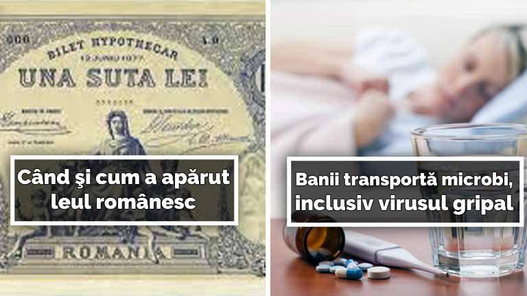 10 curiozităţi despre bani, care îţi vor face ziua mai interesantă