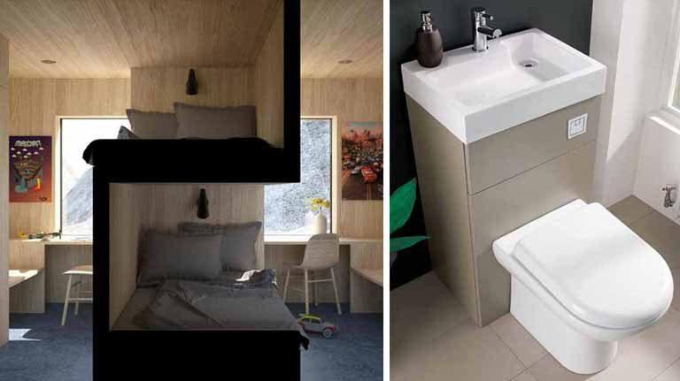 10 idei ingenioase, pentru economisirea spaţiului din casă