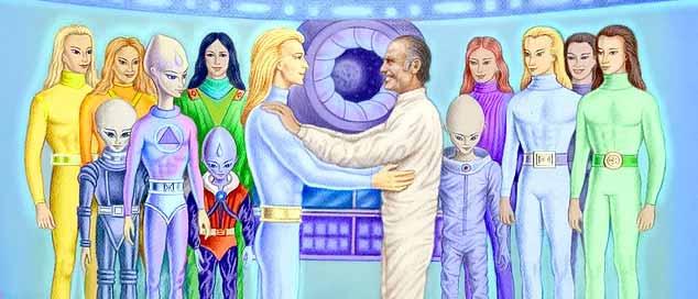 oamenii universului