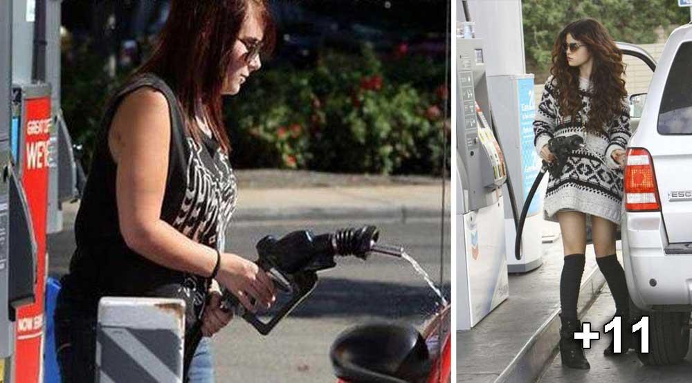imagini amuzante benzinarie