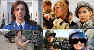 cele mai frumoase femei soldat