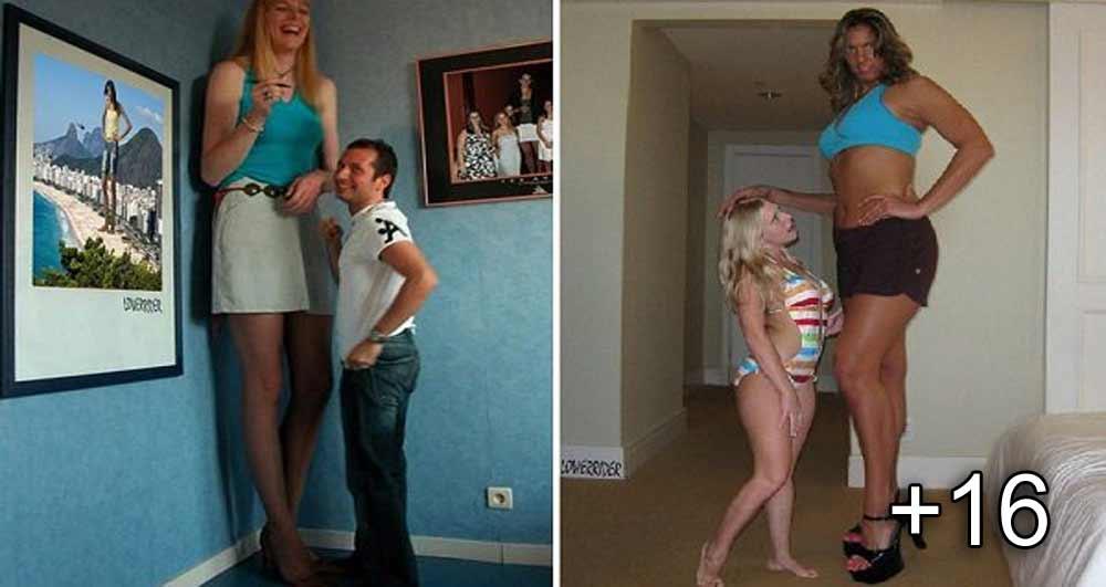 femei foarte inalte