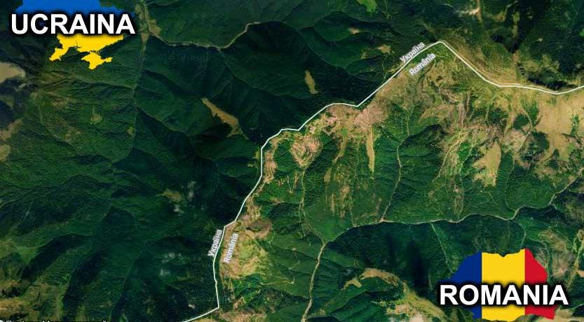 Vezi Cum Arată Pădurile Romaniei Din Satelit Comparativ Cu Ale