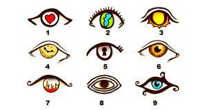 testul ochilor