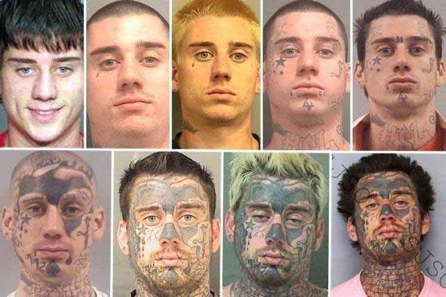 imagini dubioase evolutie tatuaje