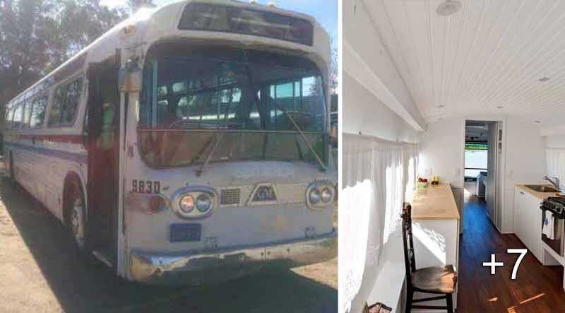 autobuz transformat in locuinta