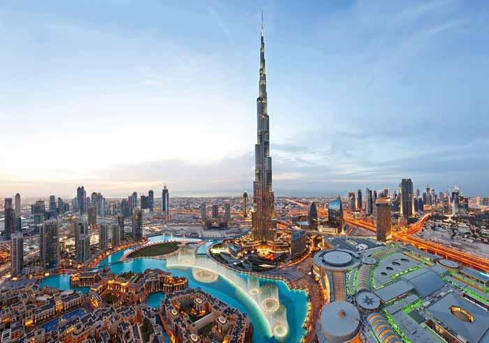 burj khalifa in prezent