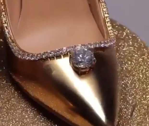 cea mai scumpa pereche de pantofi din lume