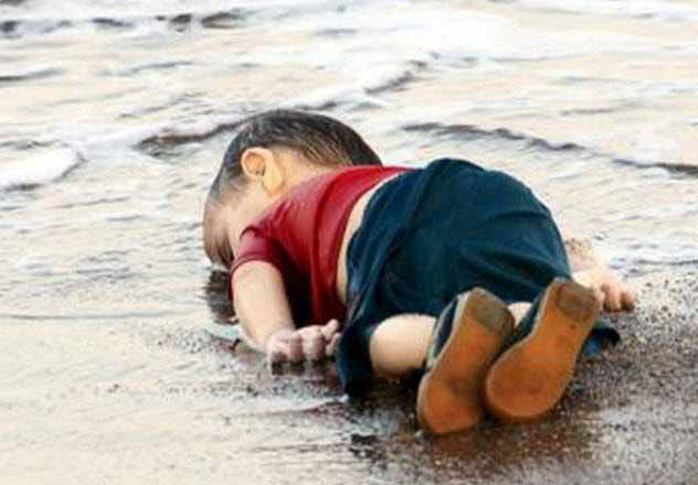 copil sirian mort pe plaja